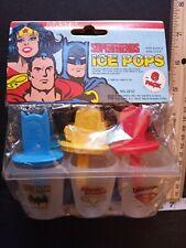 1980 Wonder Woman Ice Pop Maker Mip Superfriends Batman Superman with Header Car