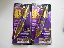 2 Pk Maybelline The Colossal Big Shot Volum' Express Mascara 224 Very Black