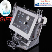 4in1 Dermabrasion Microdermabrasion Ultrasonic Hot Cold Hammer Skin Machine+GIFT