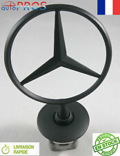 Star Emblema Chapa Logo Bonnet Capucha de pie para Mercedes serie E s C CL