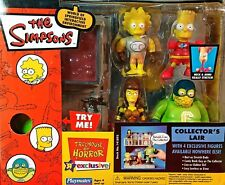 THE SIMPSONS TOYS R US PLAYMATES ENVIROMENT WOS COLLECTOR'S LAIR W 4 FIGURES MIP