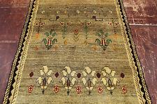 ANCIEN nomades PICASSO aspect rizbaf Gabbe PERSAN TAPIS d'Orient 1,89 x 1,09