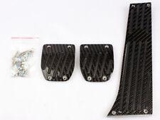* BMW BLACK CARBON MT PEDAL 3PCS E30 E36 E90 E92 E46 E82 E88 E85 E86 E89 Z3 Z4