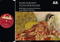 Rimsky-Korsakov SCHEHERAZADE LP FERENC FRICSAY Heliodor 1966 UK 89 618 @Exclt@