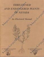 ENDANGERED PLANTS OF NEVADA Botany NNNPS Conservation NATIVE PLANTS Illustrated