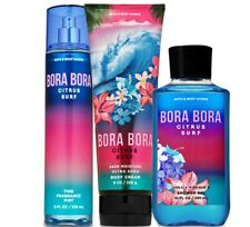 Bath & Body Works Bora Bora Citrus Surf Trilogy Set