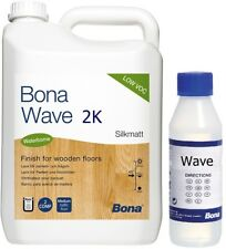 Bona Wave 2k 5l halbmatt  Versiegelung Parkettlack Parkett 5 Liter