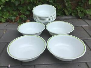 Vintage Corelle / Corning Wildflower Cereal Soup Bowls (Set of 4)