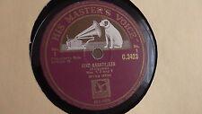 Myra Hess - 78rpm single 12-inch - His Masters Voice #C.3423 Five Bagatelles