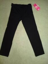 Juniors Charlotte Russe Black Stretch Cotton Leggings crop Size Small