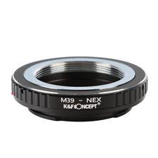 K&F Concept M39-NEX Lens Adapter Ring for Leica M39 Lens to Sony E Mount Cameras