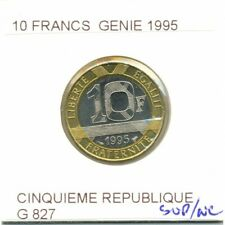 FRANCE 10 FRANCS GENIE 1995 SUP/NC