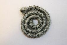 All Cooped Up Medium Gray Curly Crepe Wool Theatrical Hair With Spirit Gum