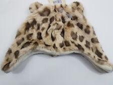Baby Winter Beanie Hat Leopard Animal Print Fleece Lined Unisex Infant 2T-5T
