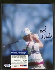 Bob Goalby Signed 8x10 Photo PSA/DNA COA AUTO Autograph