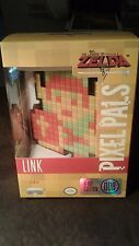 Rare Pixel Pals 8 bit Zelda Link light up figure Nib sold out Htf Nintendo Nes