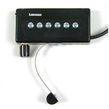 Bill Lawrence A-345C Acoustic Guitar Pickup Pop in w/ Volume NEW A345 A345C
