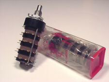 Grayhill 10 position 4 pole rotary switch - GOLD CONTACTS - Mil Spec - NEW!