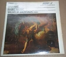 Backhaus BRAHMS Piano Music - London STS 15047 SEALED