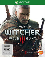 Microsoft XBOX - One XBOne Spiel ***** The Witcher 3 Wild Hunt ****NEU*NEW*18*55