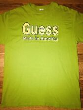 "Vintage OG 90's 1996 ""Made In America"" Guess T-Shirt USA A$AP M Tee *VERY RARE*"