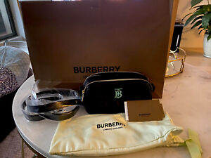 Burberry MIni Quilted Leather Bag