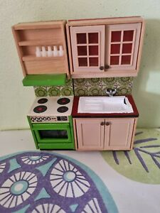 Dolls House Lundby Lisa Sink And Cooker spare cupboard 16th