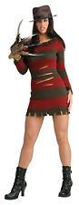 Freddy Krueger Female Costume Adult Sexy Womens Nightmare Elm Street Rubies