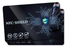 2x NFC Shield Card - RFID & NFC Schutz / Blocker Karte für EC & Kreditkarten