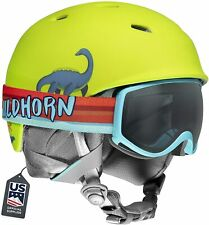 Wildhorn Spire Snow & Ski Helmet w/Goggles for Kids and Youth