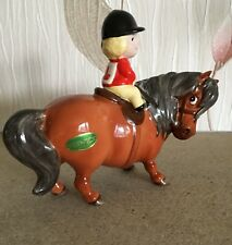 BESWICK HORSE FOAL PONY THELWELL ANGEL ON HORSEBACK BAY  No. 2704B  PERFECT