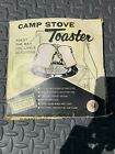 Vintage Camp Stove Toaster Japan Copper Aluminum 4 Sided