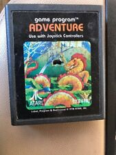 "Adventure Atari 2600 CX2613 Picture Label ""Ready Player One"" Game Tested Works"