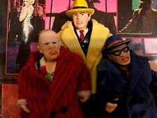 Walt Disney™ DICK TRACY Playmates Figures Trenchcoat Custom Edition Series Set