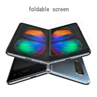 Clear Full Coverage Soft Film For Samsung Galaxy Fold Screen Protector Film Lot