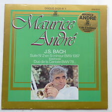 MAURICE ANDRE Disque d or N°1 BACH Suite 2 en si mineur ERA 9228