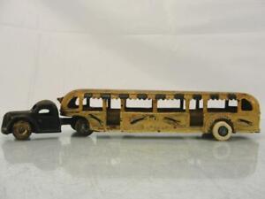 1933 ARCADE CENTURY OF PROGRESS CAST IRON CHICAGO GREYHOUND LINES BUS TRUCK
