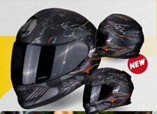 Casco Moto  Scorpion Exo 510 Air Likid 2OR Nero Opaco Arancio taglia S