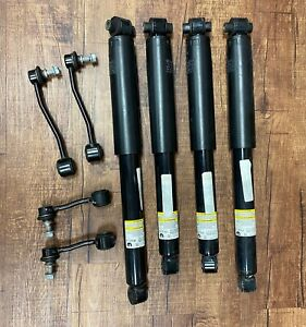 Set of 4 OEM Jeep Wrangler Sahara JL 2018 Take off Shocks With Sway Bars