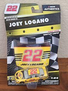 2019 Wave 1 Joey Logano Pennzoil 2018 Darlington Throwback 1/64 NASCAR Authentic