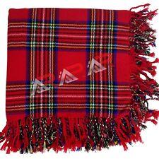 Mens Scottish Royal Stewart Tartan Highland Kilt Fly Plaid Tartans Kilts AAR New