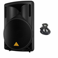 Behringer B215D Active DJ/Club/ Live Sound 550W Amplified Speaker FREE XLR CABLE