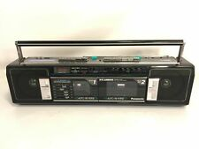 Panasonic Ambience Equalizer Stereo Cassette Boombox Model RX-FW32 Made In Japan