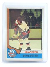 1974-75 Denis Potvin #195 New York Islanders O-Pee-Chee Rookie Hockey Card I016