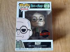 RICK AND MORTY ROY SPECIAL EDITION FUNKO POP #418 BRAND NEW
