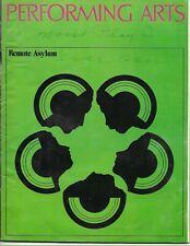 WILLIAM SHATNER-REMOTE ASYLUM-LA PERFORMING ARTS PROGRAM 1970 RARE