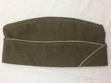 "Vintage Serves Hat Cap Green Measures app. 10 3/4"" Long"