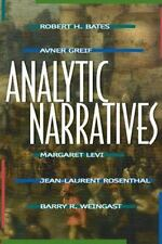 Analytic Narratives by Jean-Laurent Rosenthal, Margaret Levi, Barry R....