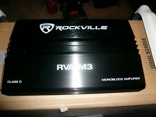 New listing Rockville amplifier 2 Channel Unbelievable Powerful Free Shipping Almost Gone