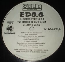Ed O.G Six Song EP (1996) Japan Pressing Hip Hop Rap